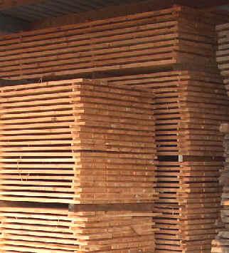 Western red cedar planken